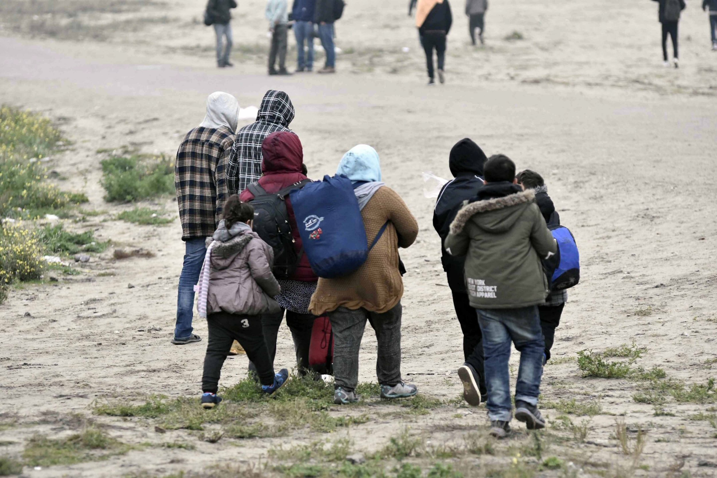 What is next for residents of the Calais Jungle after the camp's demolition?