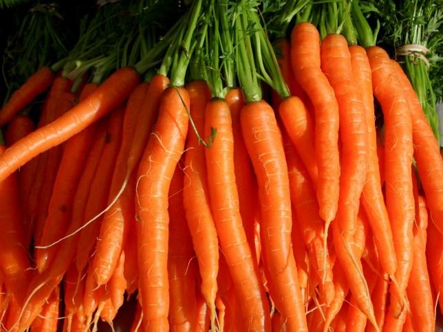 Man detained over 300 tonne carrot stash