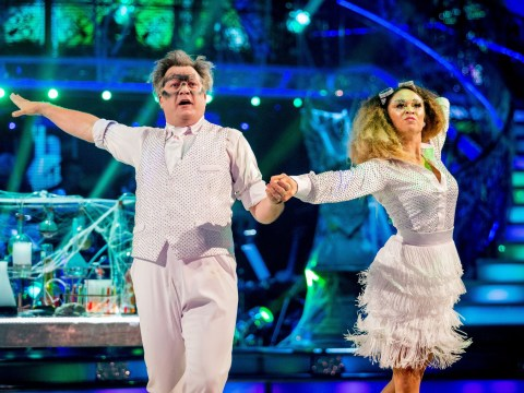Ed Balls has been hailed 'the male Beyonce' after this week's Strictly Come Dancing Halloween routine