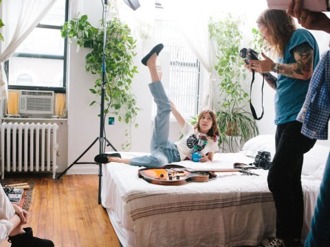 UGG has teamed up with Alexa Chung to launch their new boots