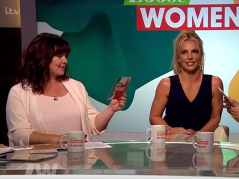 WATCH: Britney Spears tells the Loose Women if she'd kiss Madonna again