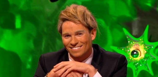 Joey Essex as Donald Trump will haunt your dreams (Picture: ITV2)