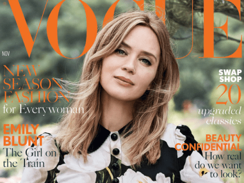 November's Vogue is going to be the first model-free issue and people are divided