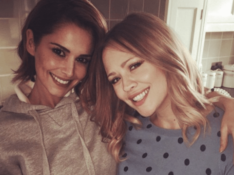 Cheryl will be a 'brilliant mum' says best mate Kimberley Walsh amid the pregnancy rumours