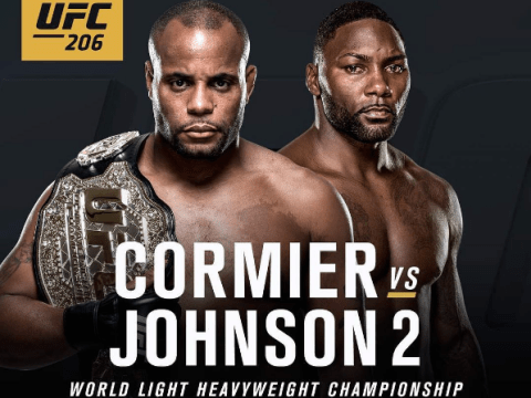 UFC confirm Anthony Johnson will get shot at title in rematch with champion Daniel Cormier at UFC 206