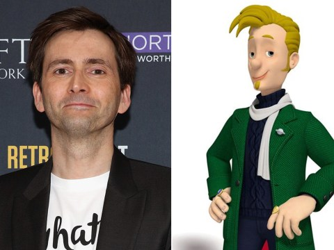 From Cybermen to Firemen: David Tennant's playing a villain in the new Fireman Sam movie
