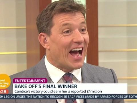 The Great British Bake Off final: Ben Shephard addresses those hosting rumours on Good Morning Britain