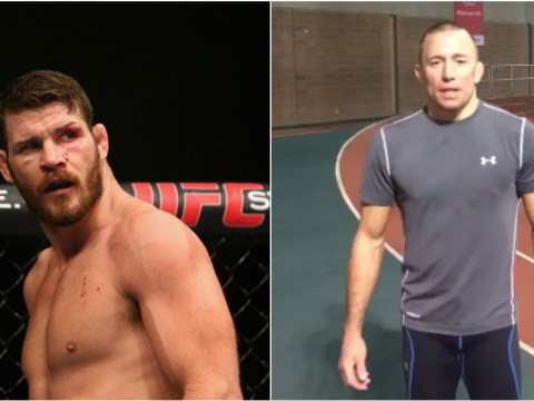 Georges St-Pierre tells Michael Bisping nothing would make him happier than fighting him at UFC 206 in Toronto
