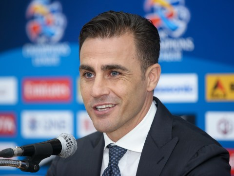 Fabio Cannavaro dreams of replacing Zinedine Zidane as Real Madrid manager