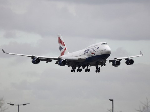 Graphic images 'show British Airways pilot performing sex act on himself while flying'