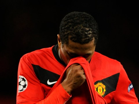 Patrice Evra had his Nike trainers burned in Manchester United's dressing room