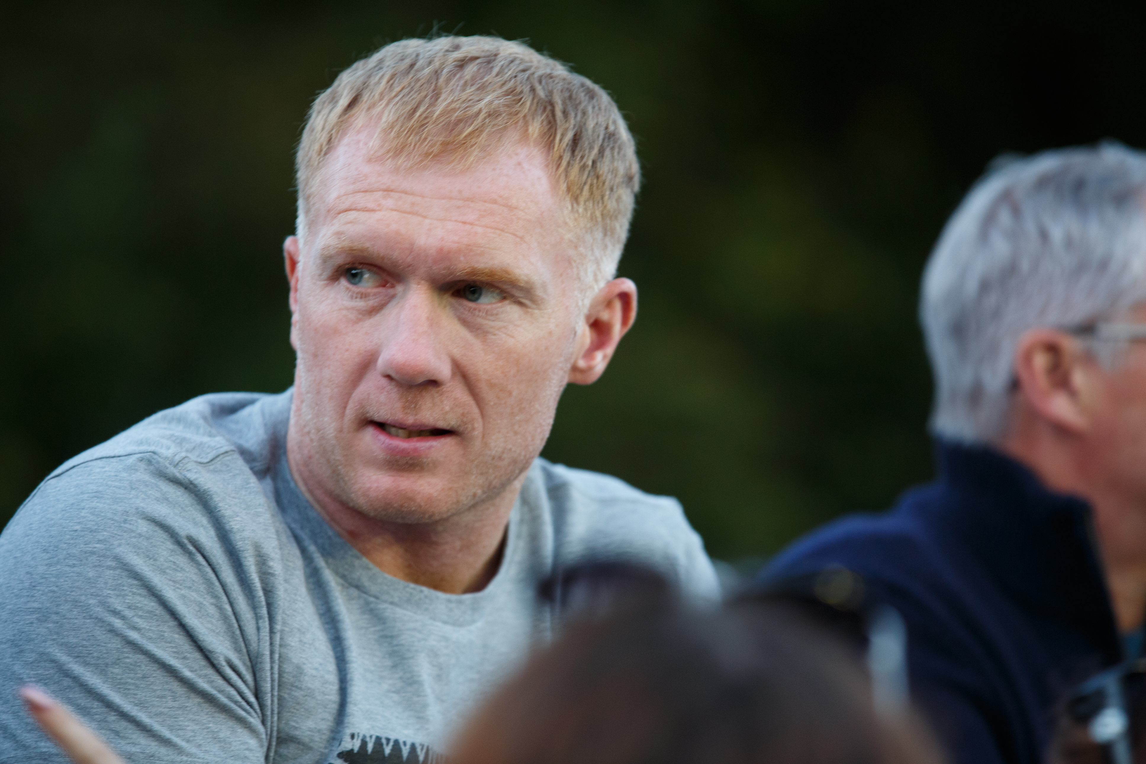 I want a nice ground and Salford City to be playing in the Championship, says Paul Scholes