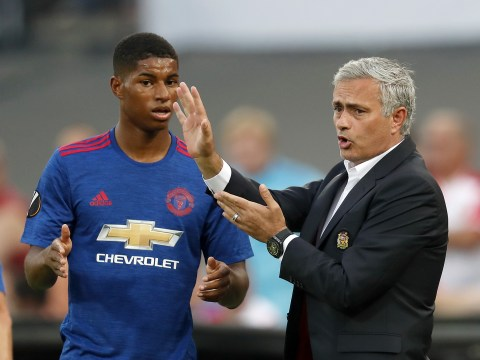 Marcus Rashford highlights the difference in training sessions under Van Gaal and Mourinho