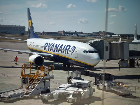 Ryanair passenger fined for crapping on runway