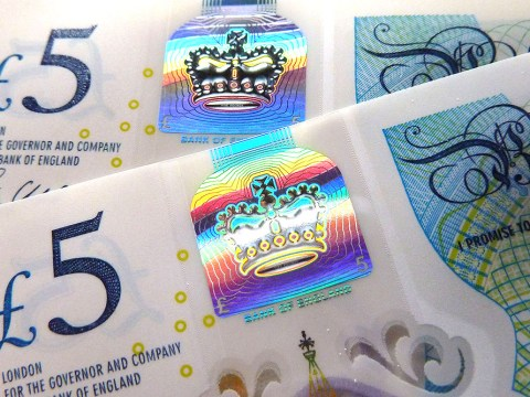 People are now selling £5 notes for £65,000