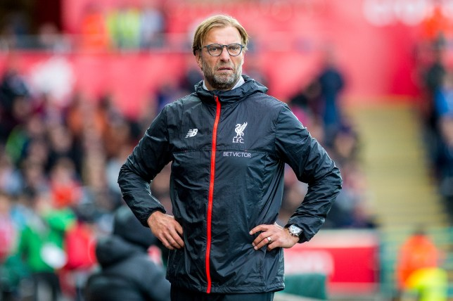 SWANSEA, WALES - OCTOBER 01: Manager of Liverpool, Jurgen Klopp reacts during the Premier League match between Swansea City and Liverpool at The Liberty Stadium on October 1, 2016 in Swansea, Wales. (Photo by Athena Pictures/Getty Images)