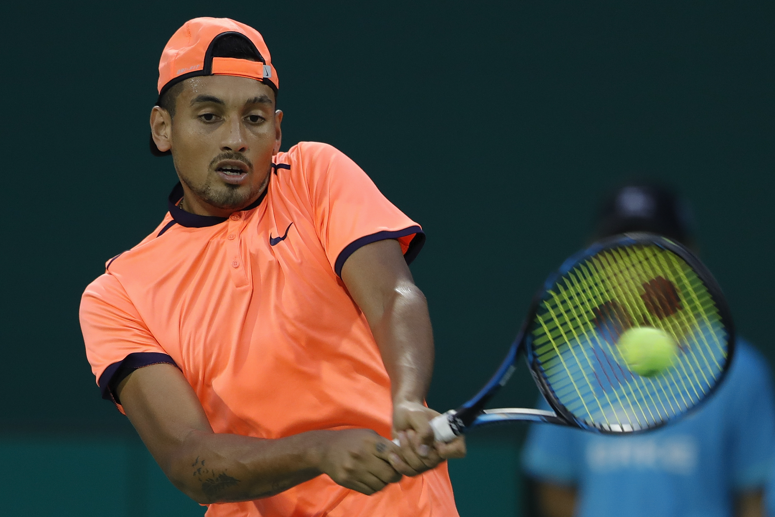 Tennis bad boy Nick Kyrgios hit with eight-week suspension by the ATP