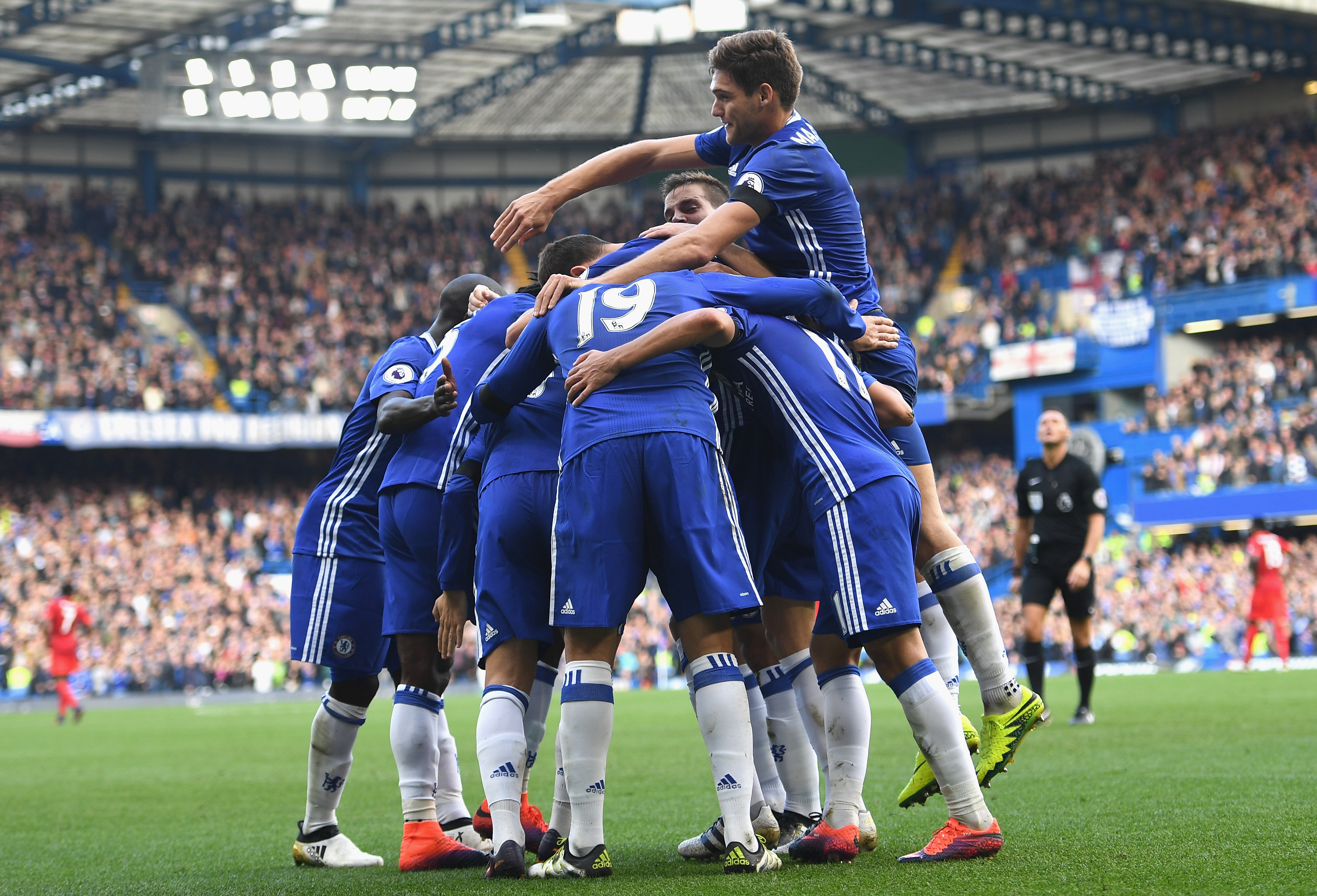 Chelsea 3-0 Leicester City Player Ratings: Pedro, Marcos Alonso and Eden Hazard shine as Wes Morgan and Leicester flounder