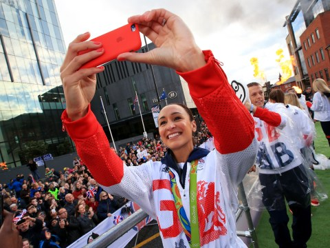 Great Britain's Olympic and Paralympic stars parade in rainy Manchester