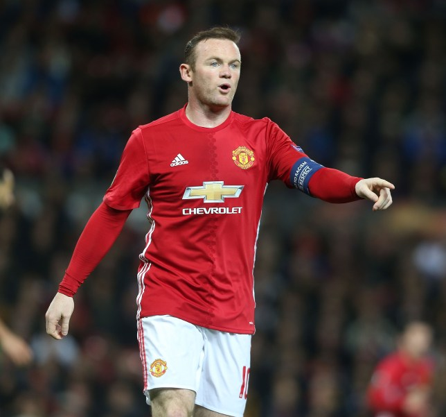MANCHESTER, ENGLAND - OCTOBER 20: Wayne Rooney of Manchester United in action during the UEFA Europa League match between Manchester United FC and Fenerbahce SK at Old Trafford on October 20, 2016 in Manchester, England. (Photo by Matthew Peters/Man Utd via Getty Images)