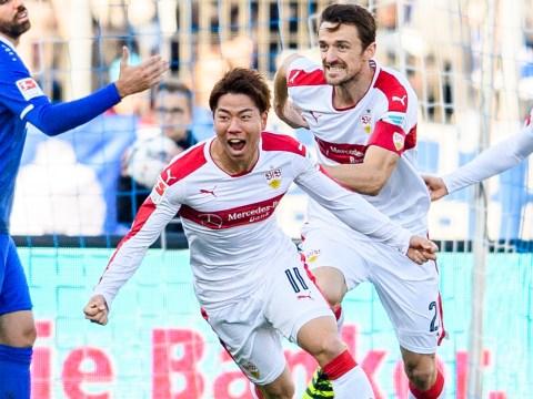 Arsenal loan star Takuma Asano scores first goal for Stuttgart
