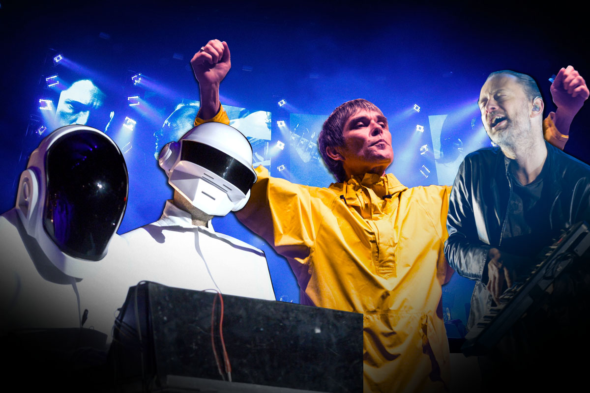 Could Daft Punk and Radiohead be the headliners for Glastonbury 2017?