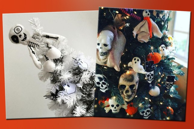 Decorating Christmas Trees For Halloween.Halloween Christmas Trees Are A Thing Now And We Re All For