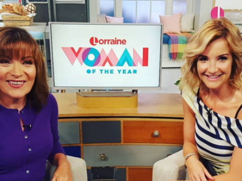 Helen Skelton 'so excited' to be filling in for Lorraine Kelly next week