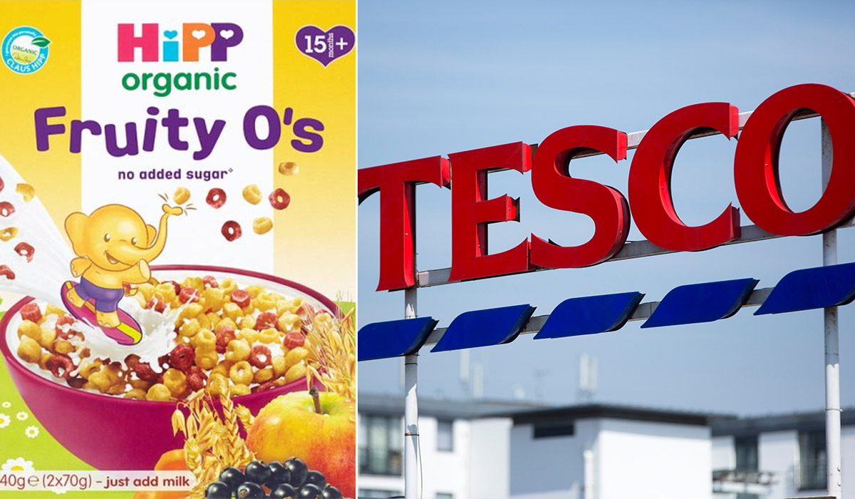 Urgent recall after metal wire found in children's cereal sold in Tesco