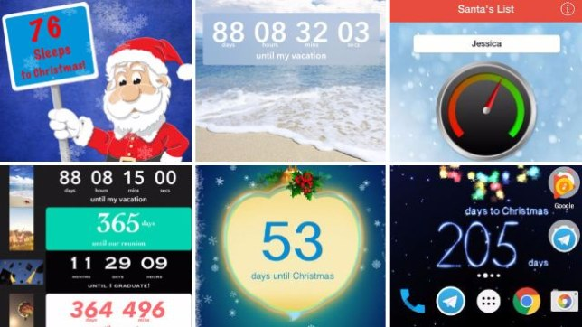 How Long Until Christmas.How Many Days Until Christmas 6 Xmas Countdown Apps For