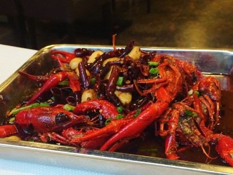 A hot encounter with Beijing's (very) spicy lobster