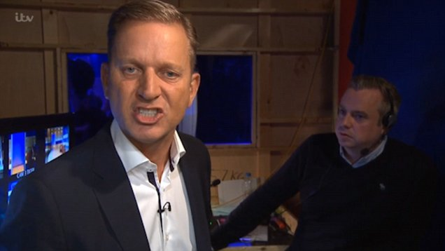 Jeremy Kyle has a tantrum and refuses to speak to guest because he annoys him
