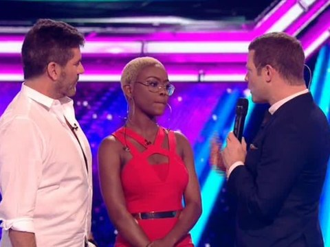 Simon Cowell felt 'humiliated' after he nearly voted Gifty Louise off The X Factor