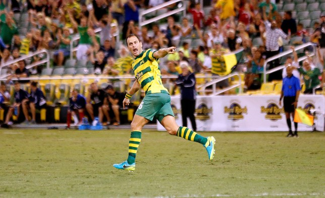 Joe Cole has been on fire since swapping Coventry for Tampa. (Picture: Tampa Bay Rowdies)