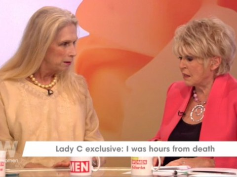Lady C was 'hours from death' after battling blood poisoning