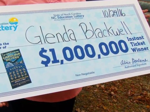 Woman buys scratchcard to show husband they're a waste of money – ends up winning $1,000,000