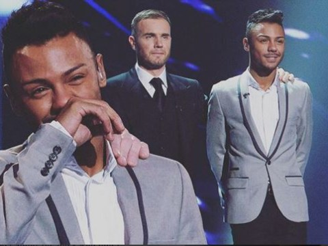 Did Marcus Collins accidentally reveal the X Factor is fake and then backtrack?