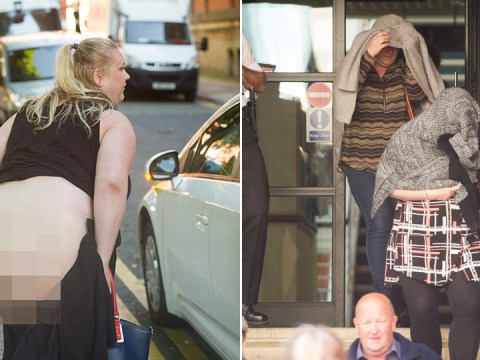 Friend of women who shouted 'English sl*t b*tches' in racist attack moons outside court