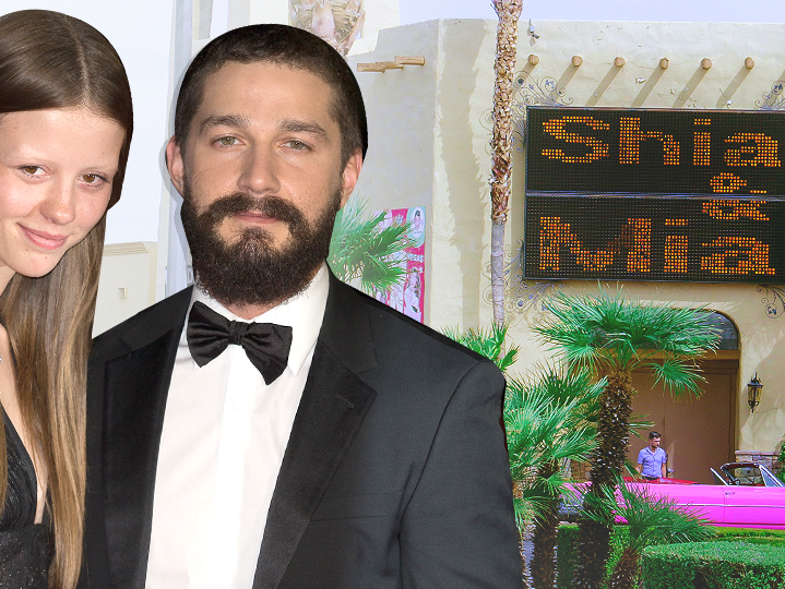 Shia LaBeouf and Mia Goth get married in Las Vegas by an Elvis Presley impersonator