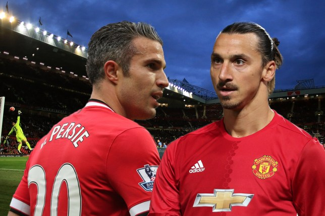71b824bd7 Robin van Persie will face Zlatan Ibrahimovic in the Europa League on  Thursday. (Picture