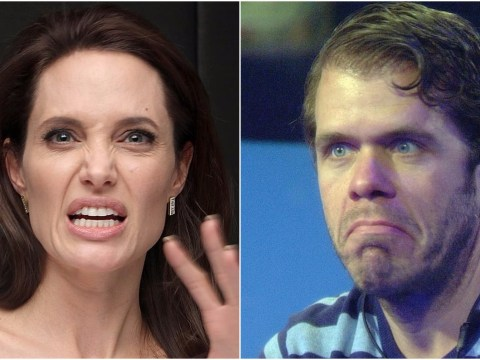 Angelina Jolie 'threatens to sue Perez Hilton over his coverage of her divorce from Brad Pitt'
