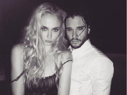 Game Of Thrones' Sophie Turner and Kit Harington had an epic pout off