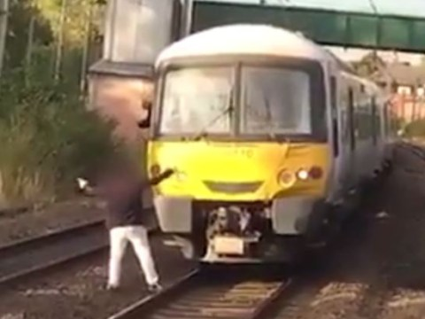 Man walks in front of train to protest ticket fares
