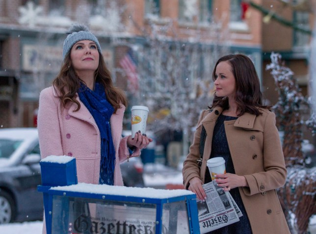 Gilmore Girls: A Year in the Life credit NETFLIX