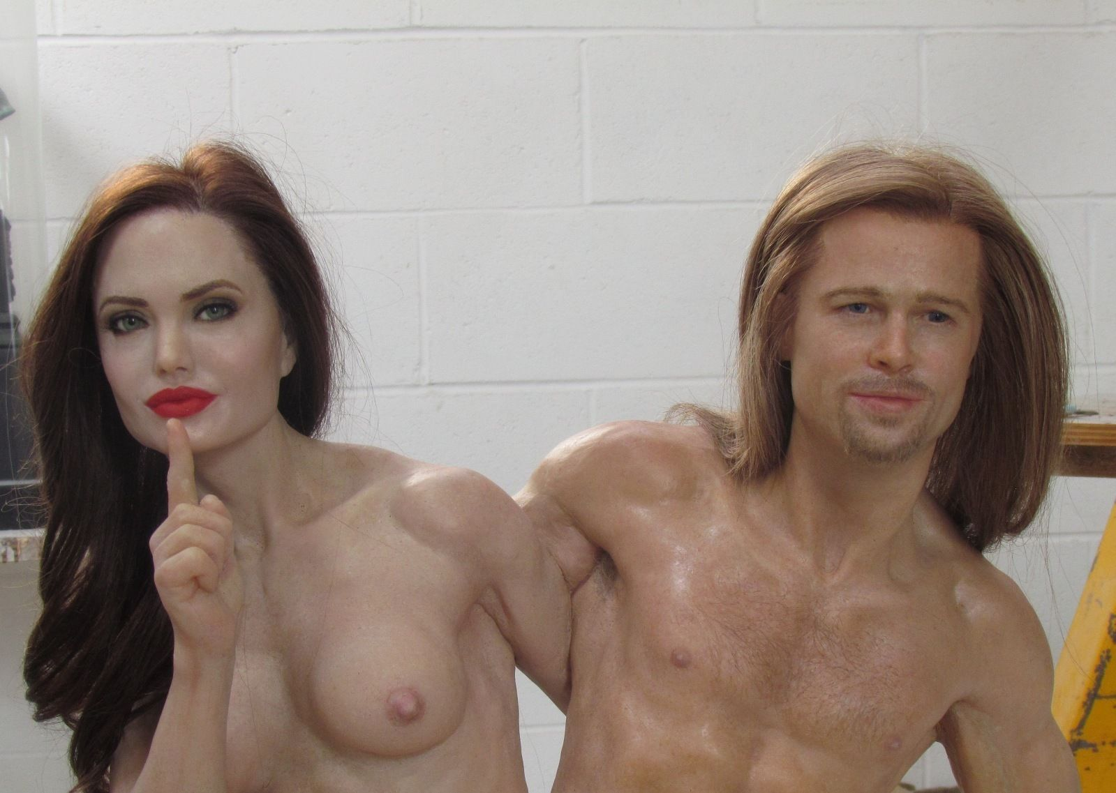 Angelina Jolie Real Nude Pics you can buy a graphic nude statue of angelina jolie and brad