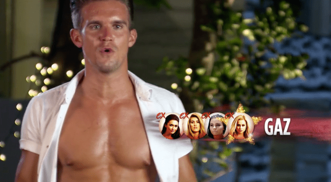 Ex On The Beach S5E10 Gaz Beadle (Picture: MTV)