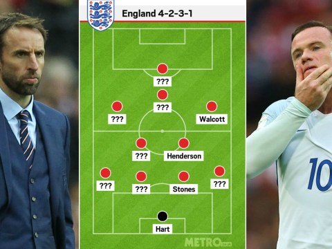 Wayne Rooney's out but how will Gareth Southgate set England up against Slovenia?