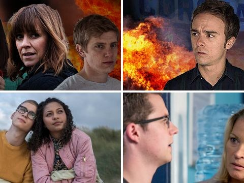 12 soap spoiler pictures: Emmerdale and Coronation Street death stunts, Hollyoaks tragedy, EastEnders discovery