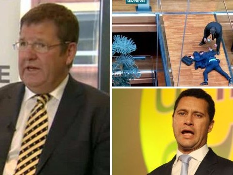 Mike Hookem calls Steven Woolfe row 'handbags at dawn' and denies punch