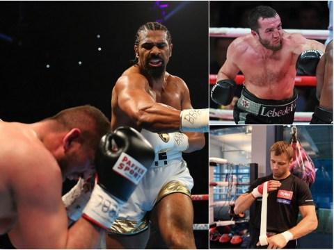 Denis Lebedev, David Haye and Mairis Briedis: The three men Tony Bellew could face next